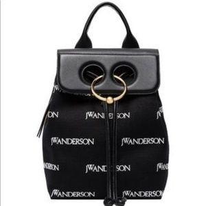 J. W. Anderson Mini Pierce Monogram Backpack